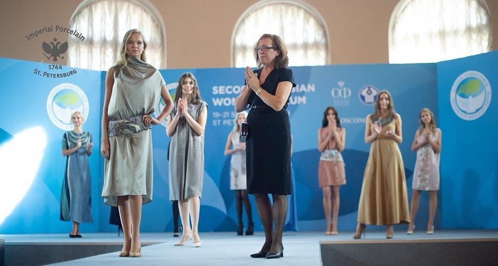 Императорский фарфор на Евразийском Женском Форуме